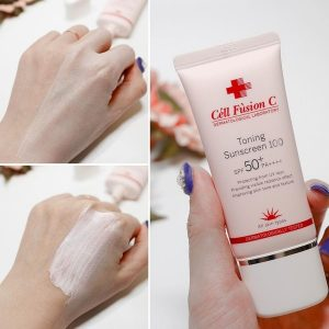 Cell Fusion C Toning Sunscreen 100 SPF 50+ PA++++
