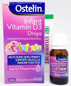Ostelin Infant Vitamin D3 Drops