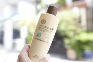 The Face Shop Eco Natural Sun Body & Family Mild Sun Milk SPF40 PA+++