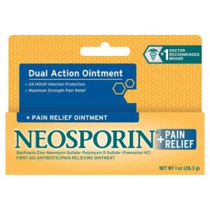 Thuốc mỡ Neosporin Dual Action Ointment