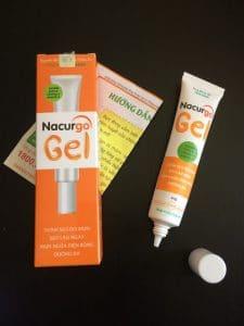 Cách sử dụng nacurgo gel đúng cách