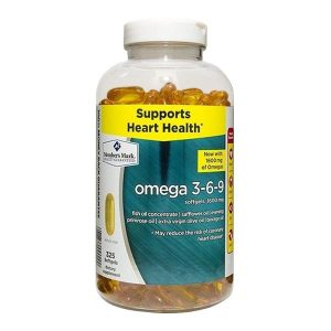 Viên Uống Omega 3 6 9 Member's Mark Supports Heart Health