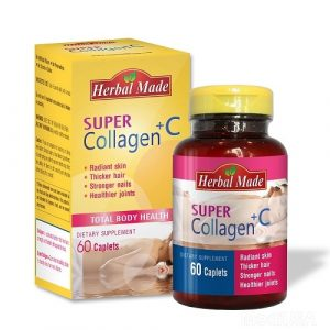 Viên nén Herbal Made Super Collagen + C