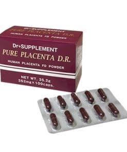 Tác dụng nổi bật của viên uống Pure Placenta D.R
