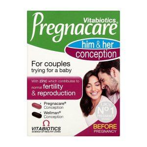 Vitabiotics Pregnacare Him and Her Conception