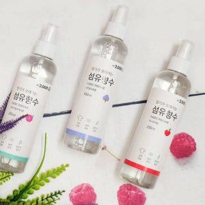 Công dụng xịt thơm quần áo Fabric Perfume Hàn Quốc 250ml
