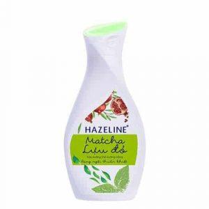 Hazeline dưỡng trắng da Matcha Lựu Đỏ - Anh