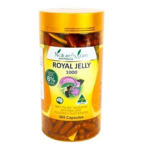 Sữa ong chúa Nature's Care Royal Jelly 1000 mg 180 viên