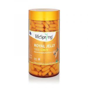 Viên uống sữa ong chúa Úc Lifespring Royal Jelly 1000 mg 360 viên