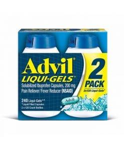 Hướng dẫn sử dụngadvil liqui gels