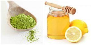 Trị mông thâm sần hiệu quả bằng hỗn hợp bột trà xanh, mật ong và nước cốt chanh