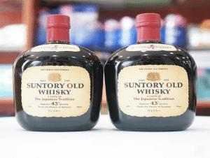 Người dùng ưa thích Whisky Suntory không chỉ bởi sự thơm lừng