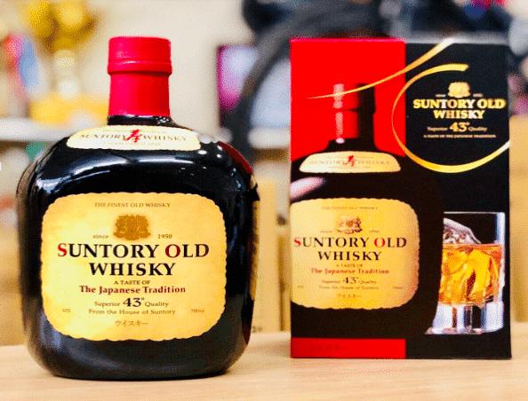 Rượu Whisky Suntory Old có tốt không?
