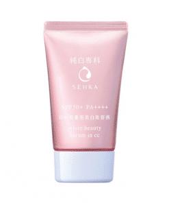 Công dụng của sản phẩm Serum chống nắng SENKA White Beauty Serum In CC