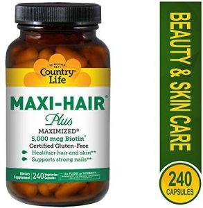 Thuốc mọc tóc Maxi Hair Plus 5000 mcg Biotin