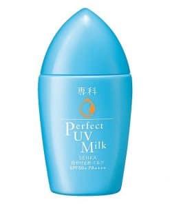 Sữa chống nắng Senka Perfect UV Milk Review