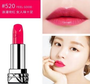 Son Dior Rouge màu 520 Feel Good hồng sen