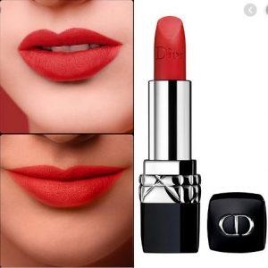 Son Dior Rouge màu 999 Matte đỏ thuần
