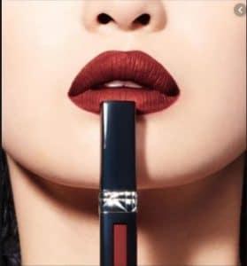 Son kem Dior 828 đỏ nâu tông trầm
