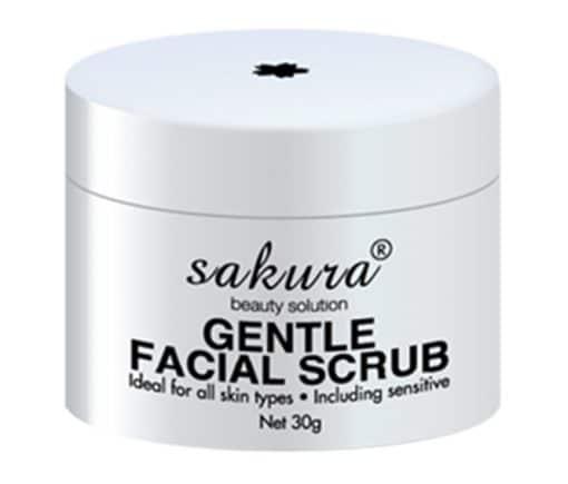 Kem tẩy tế bào chết Sakura Gentle Facial Scrub