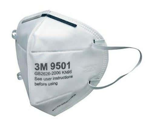 Review của khách hàng sử dụng khẩu trang 3M 9501