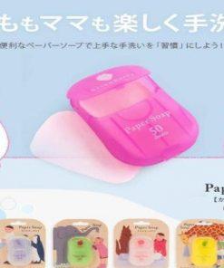 Xà phòng giấy Paper Soap Nhật có sử dụng được cho trẻ em không?