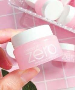 Cách sử dụng tẩy trang Zero
