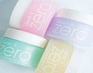 Tẩy trang Zero có mấy loại?