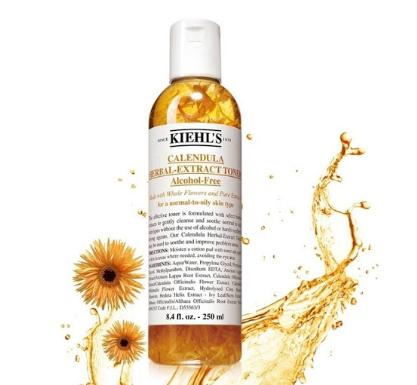 REVIEW - Toner hoa cúc Kiehl's Calendula Herbal Extract Alcohol 1