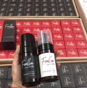 Review của khách hàng về Foellie dung dịch