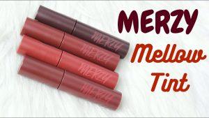 Bảng màu son Merzy dòng Bite The Beat Mellow Tint mới nhất