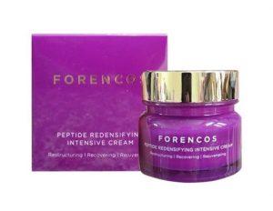 Kem dưỡng da ban đêm Forencos Peptide màu tím Hàn Quốc 1