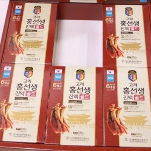 Korean Red Ginseng Hong Seon Saeng Drink Gold