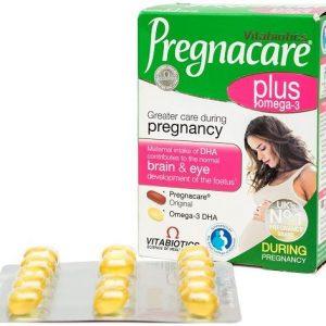 Công dụng của sản phẩm Pregnacare Plus Omega