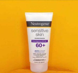 Kem chống nắng Neutrogena cho da nhạy cảm