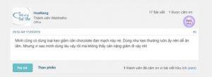 REVIEW Kẹo socola giảm cân Đan Mạch Chocolate Vægttab 7