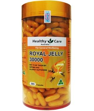 Sữa ong chúa Healthy Care Royal Jelly 30.000 1
