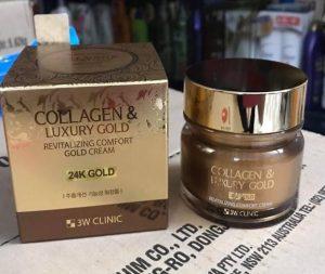 3W Clinic Collagen Luxury Gold