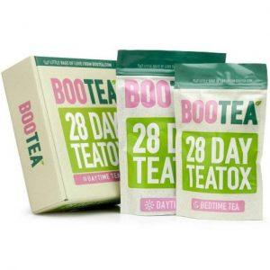 REVIEW Trà giảm cân Bootea Teatox 28 Day 1