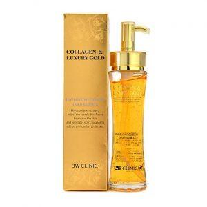 Serum Collagen Luxury Gold 3W Clinic dưỡng tái tạo da 1