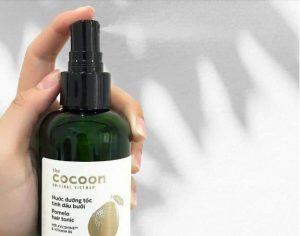 Công dụng của tinh dầu bưởi Cocoon Pomelo Hair Tonic