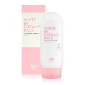 Kem ủ trắng da toàn thân G9 Skin White In Creamy Pack Whitening 1