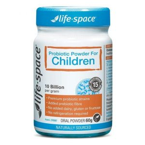 Men vi sinh Life Space Probiotic Powder For Children‎ cho bé của Úc 1