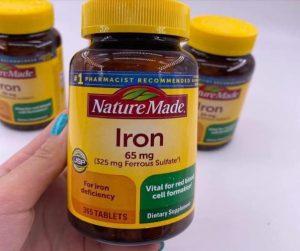 Nature Made Iron 65mg có tốt không?