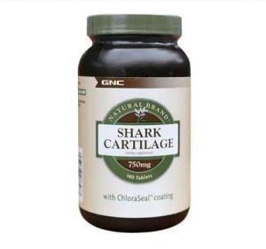 Sụn vi cá Shark Cartilage 750mg 180 viên của Mỹ 1