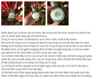 REVIEW xịt thơm Body Holic