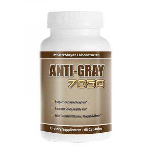 Viên uống trị tóc bạc sớm Anti Gray Hair 7050 1
