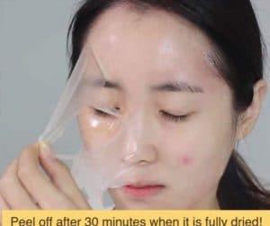 Công dụng của mặt nạ lột tẩy da chết April Skin Real Calendula Peel Off