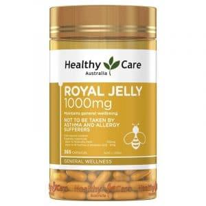 Sữa ong chúa Healthy Care Royal Jelly 1000mg 1