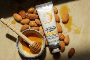 REVIEW Bộ Dưỡng Thể The Body Shop Almond Milk & Honey 3